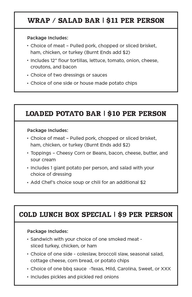 Catering – ShortE's BBQ